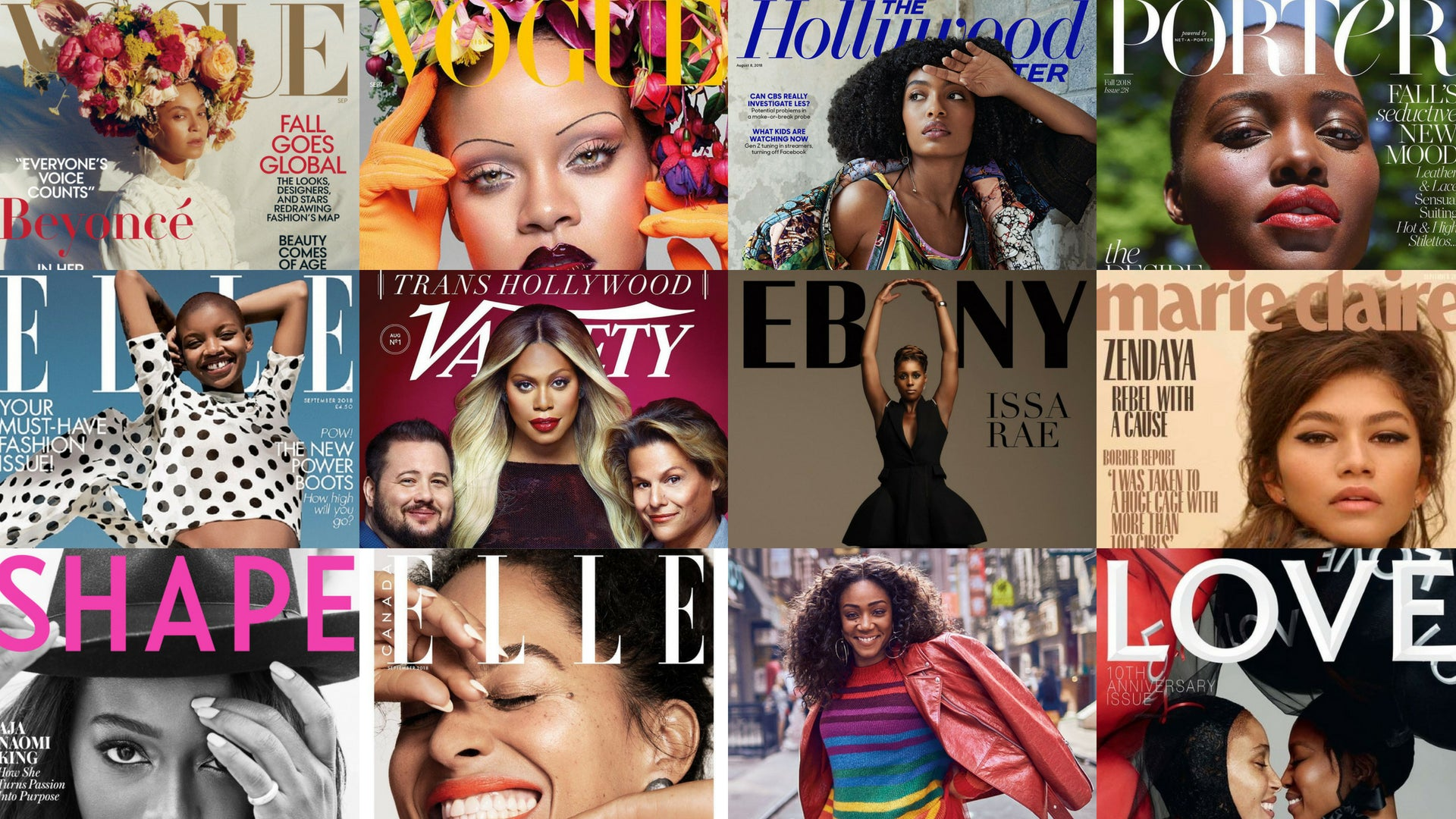 Black Women Will Grace Over 10 Magazine Covers in September
