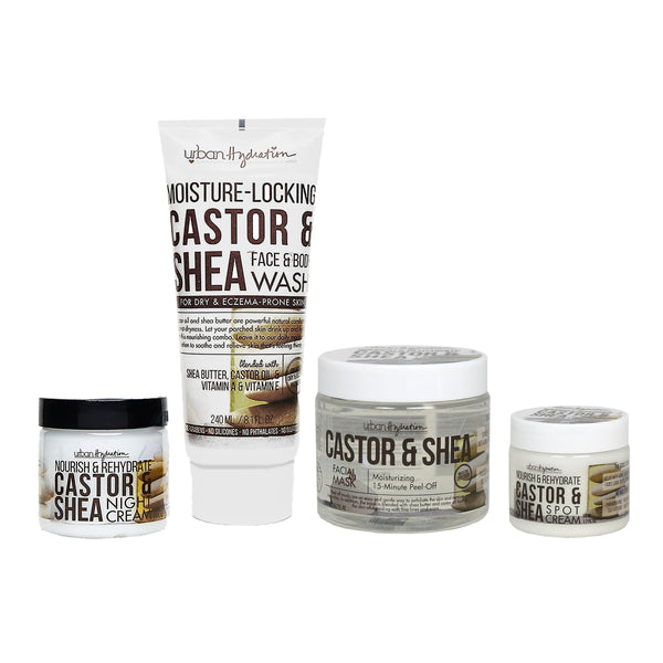 Castor & Shea Nourishing Care - 4pc Set