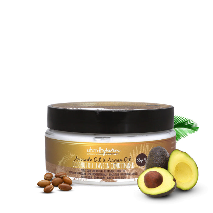 Coconut Oil Leave-In Conditioner with Avocado & Argan Oil