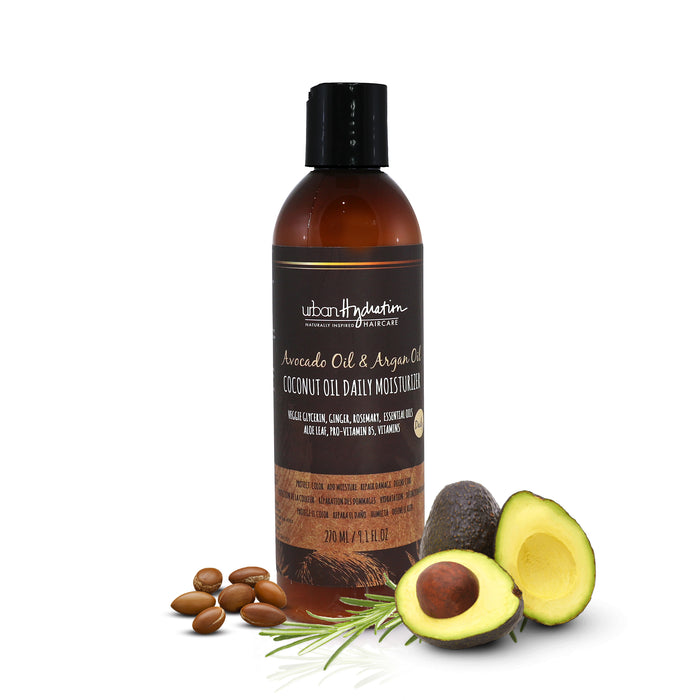 Coconut Oil Daily Moisturizer with Avocado & Argan Oil