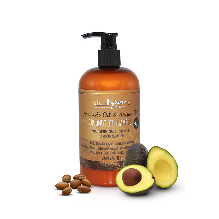 Coconut Oil Shampoo with Avocado & Argan Oil