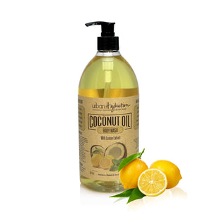 Lemon Extract Coconut Oil Body Wash