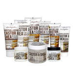 Nourish & Rehydrate Castor & Shea Complete Skin & Body Care - 9pc Set