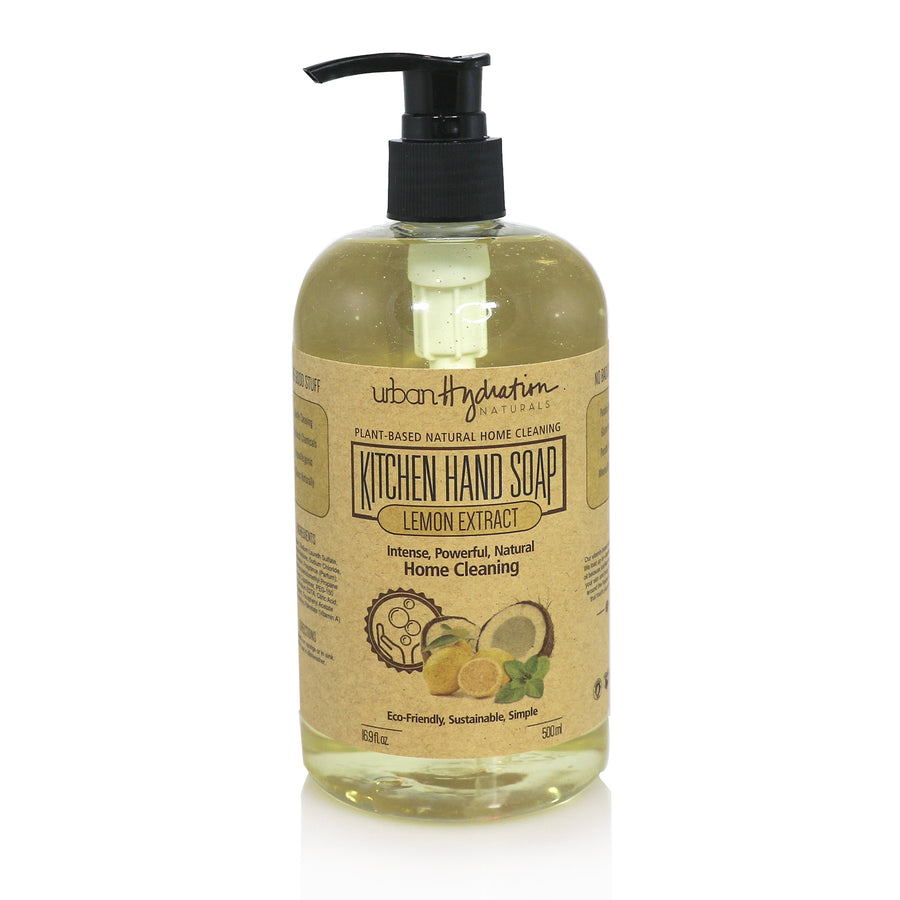 Lemon Extract Coconut Oil Kitchen Hand Soap
