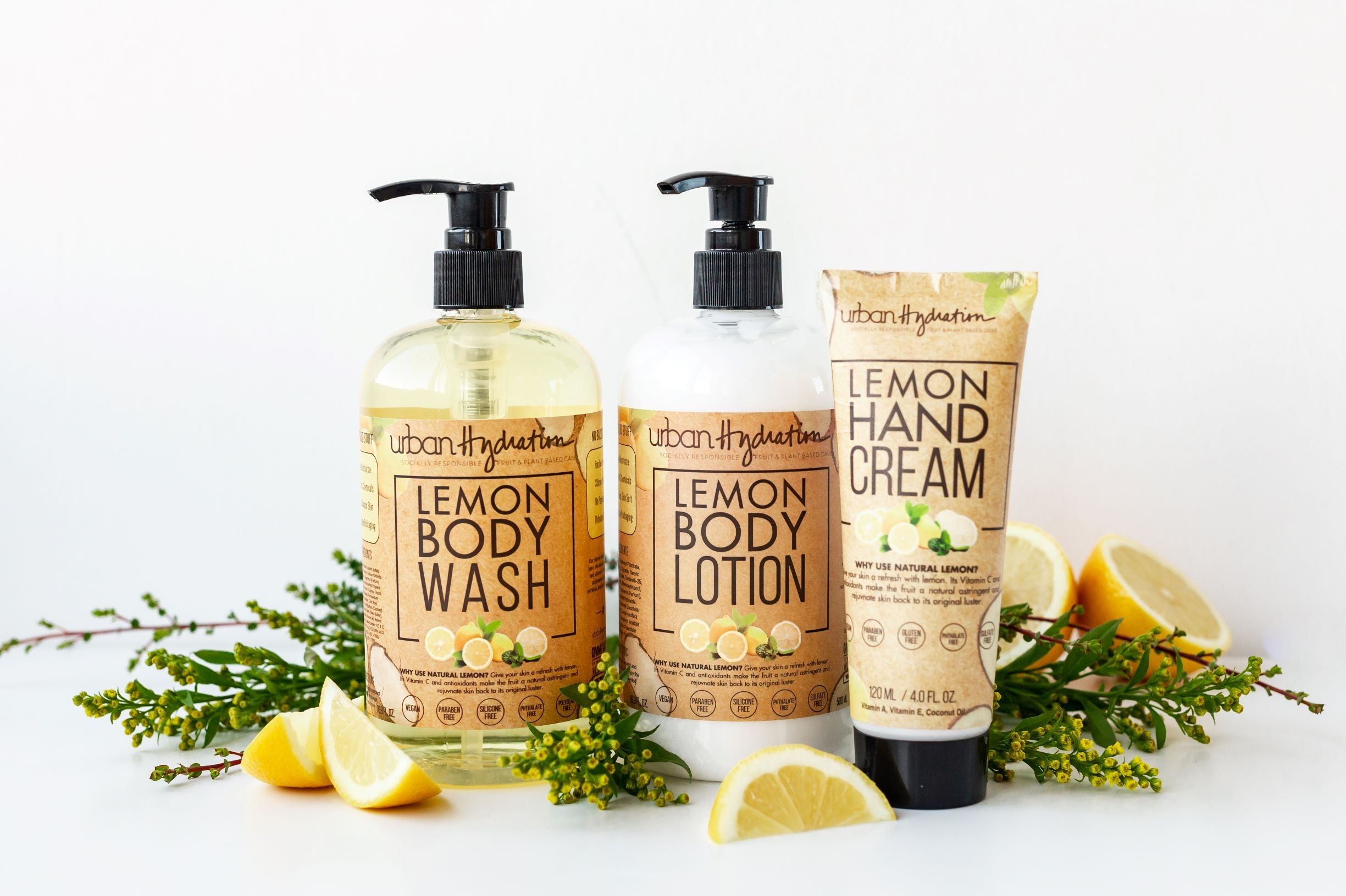 Lemon Body Wash