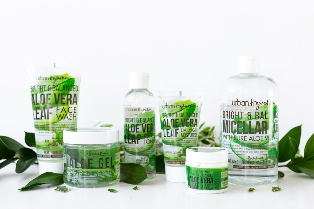 Bright & Balanced Aloe Vera Premium Skincare - 5pc Set