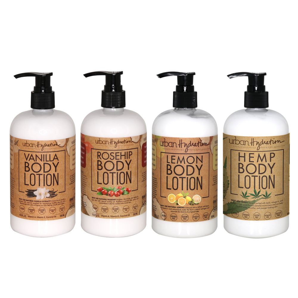 Premium Body Lotion - 4pc Set