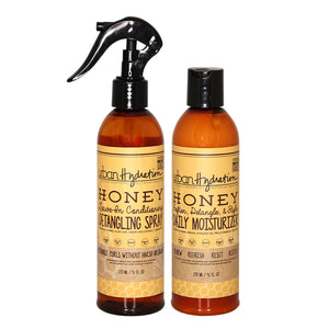 Load image into Gallery viewer, Honey Health & Repair Daily Moisturizer and Detangling Spray Set