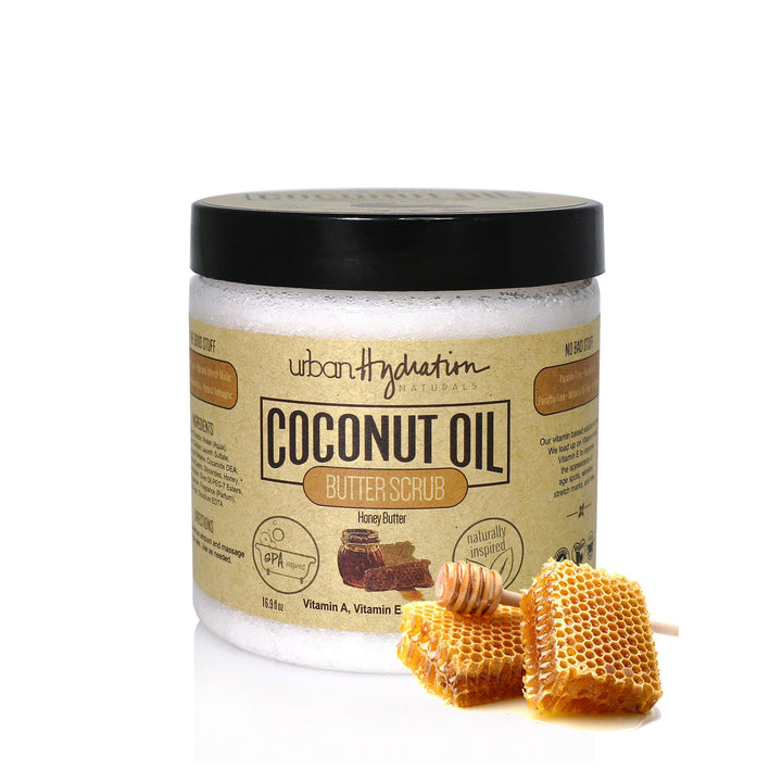 Honey Butter Coconut Oil Scrub