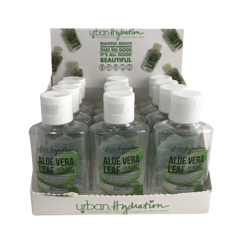 Load image into Gallery viewer, Aloe Vera 2 OZ Natural Hand Sanitizer - 12 CT Display