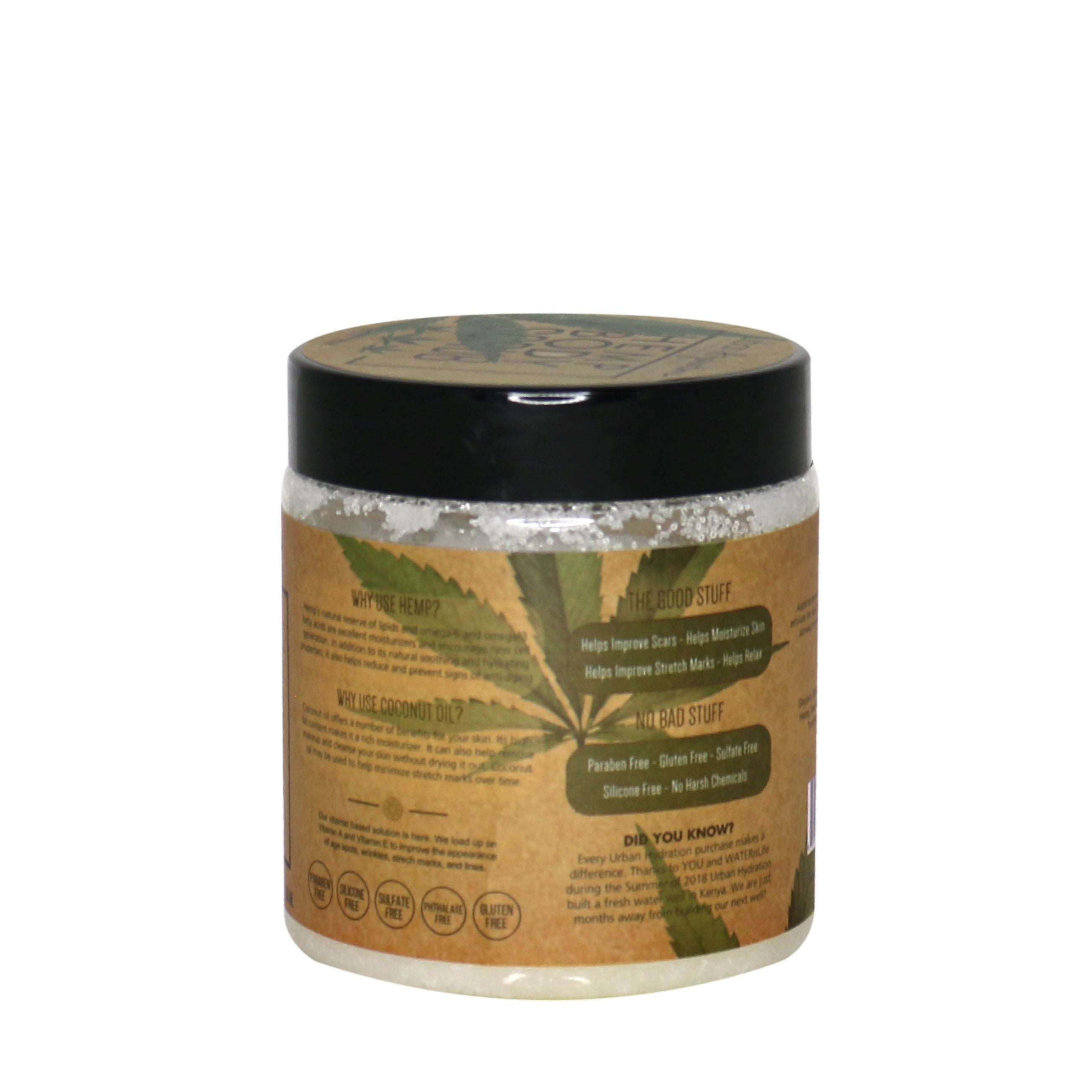 Hemp Body Scrub
