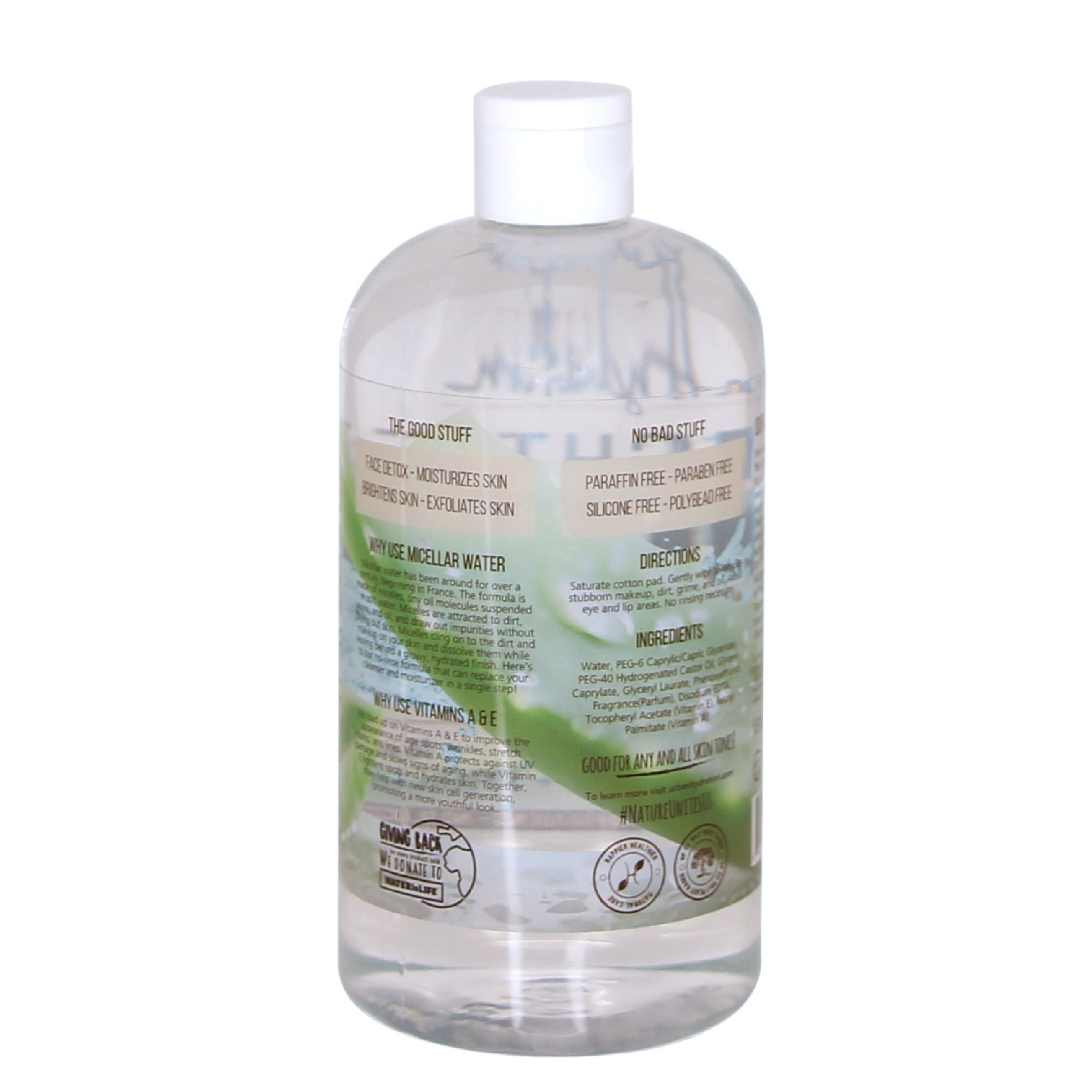 Bright & Balanced Aloe Vera Leaf Micellar Water