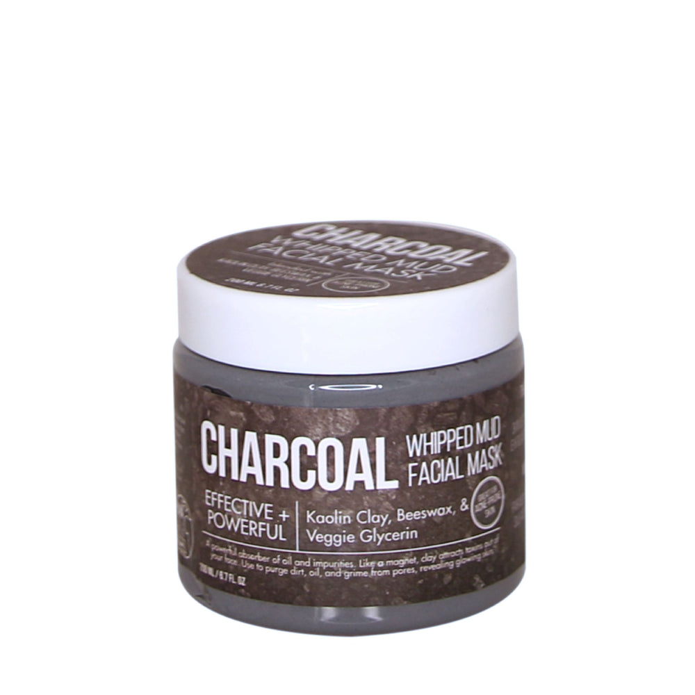Purify & Detox Whipped Charcoal Facial Clay Mud Mask