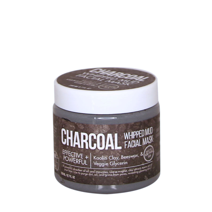 Purify & Detox Whipped Charcoal Clay Mud  Mask