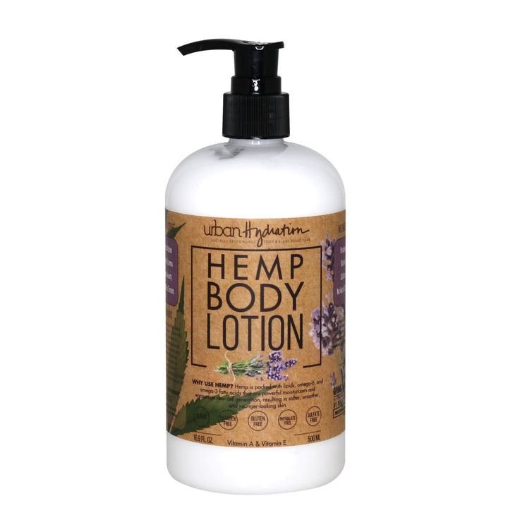 Hemp Seed Oil Lavender Body Lotion