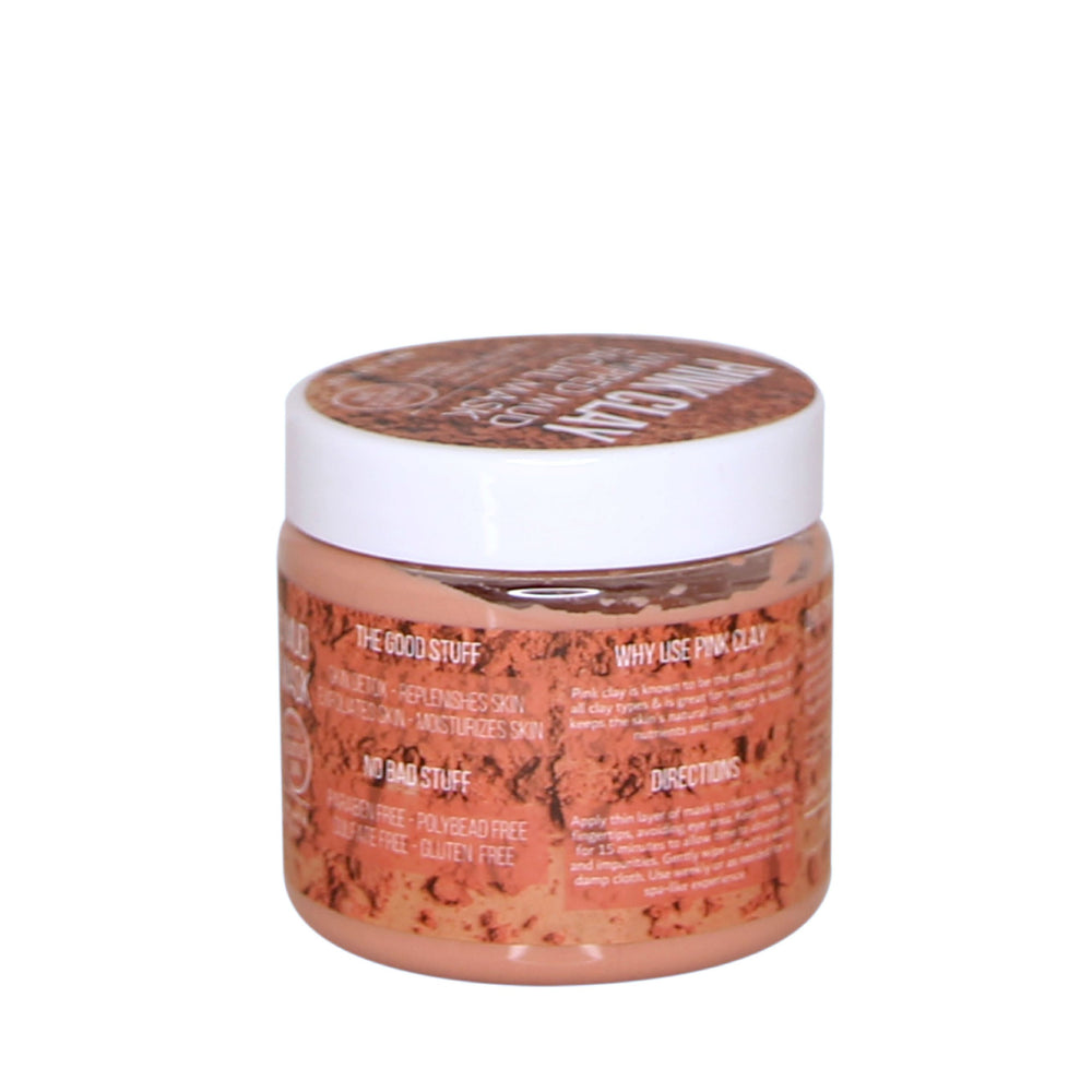 Brighten & Refine Pink Clay Facial Whipped Mud Mask
