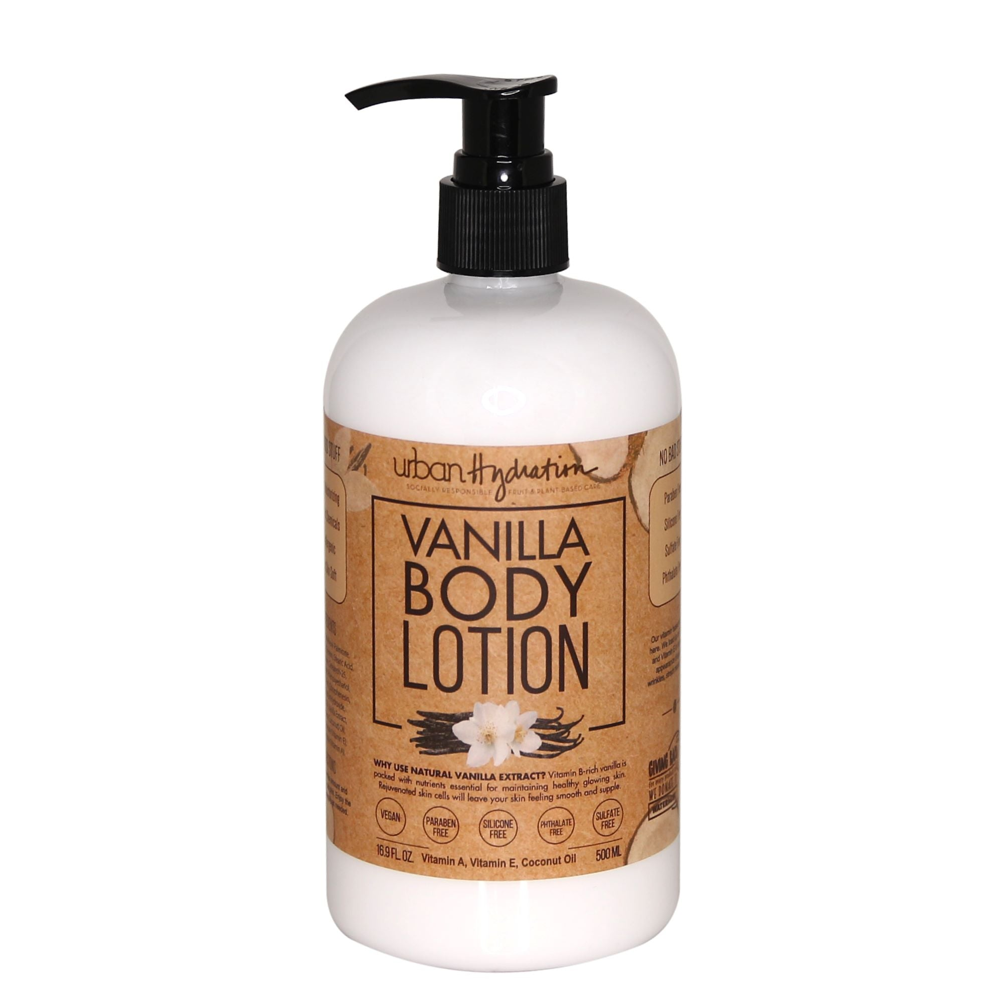 Vanilla Premium Bath & Body Set