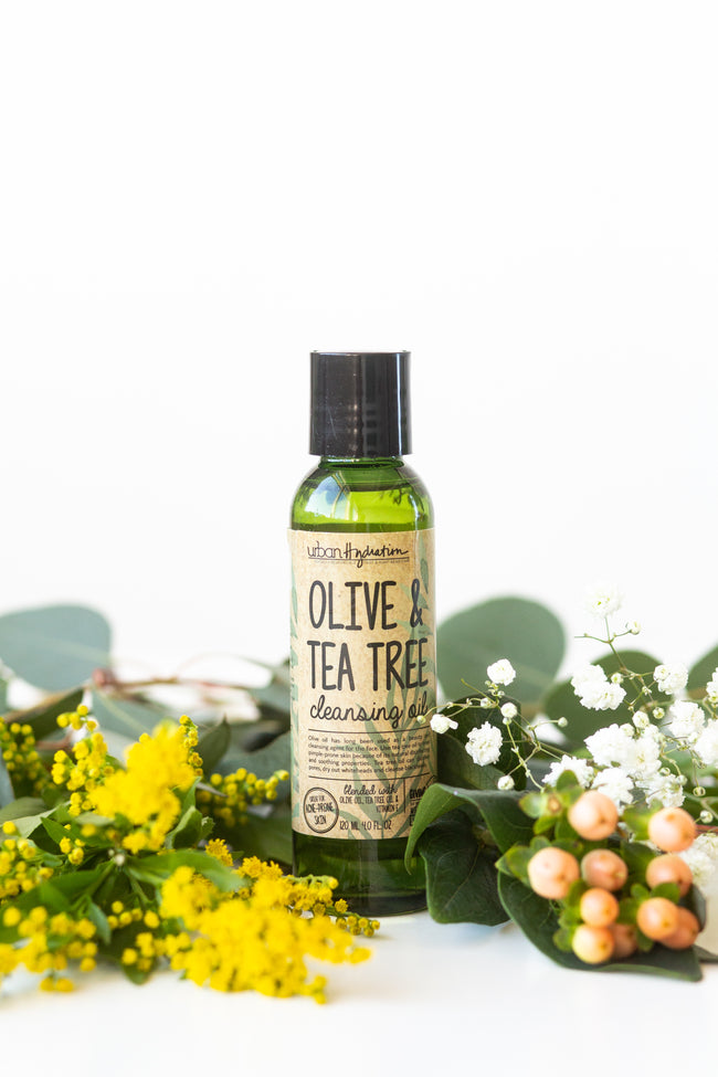 Acne & Inflammation Tea Tree & Olive Face Cleansing Oil