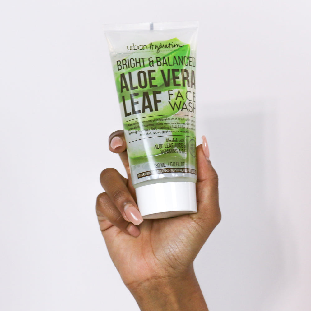 Bright & Balanced Aloe Vera Leaf Face Wash