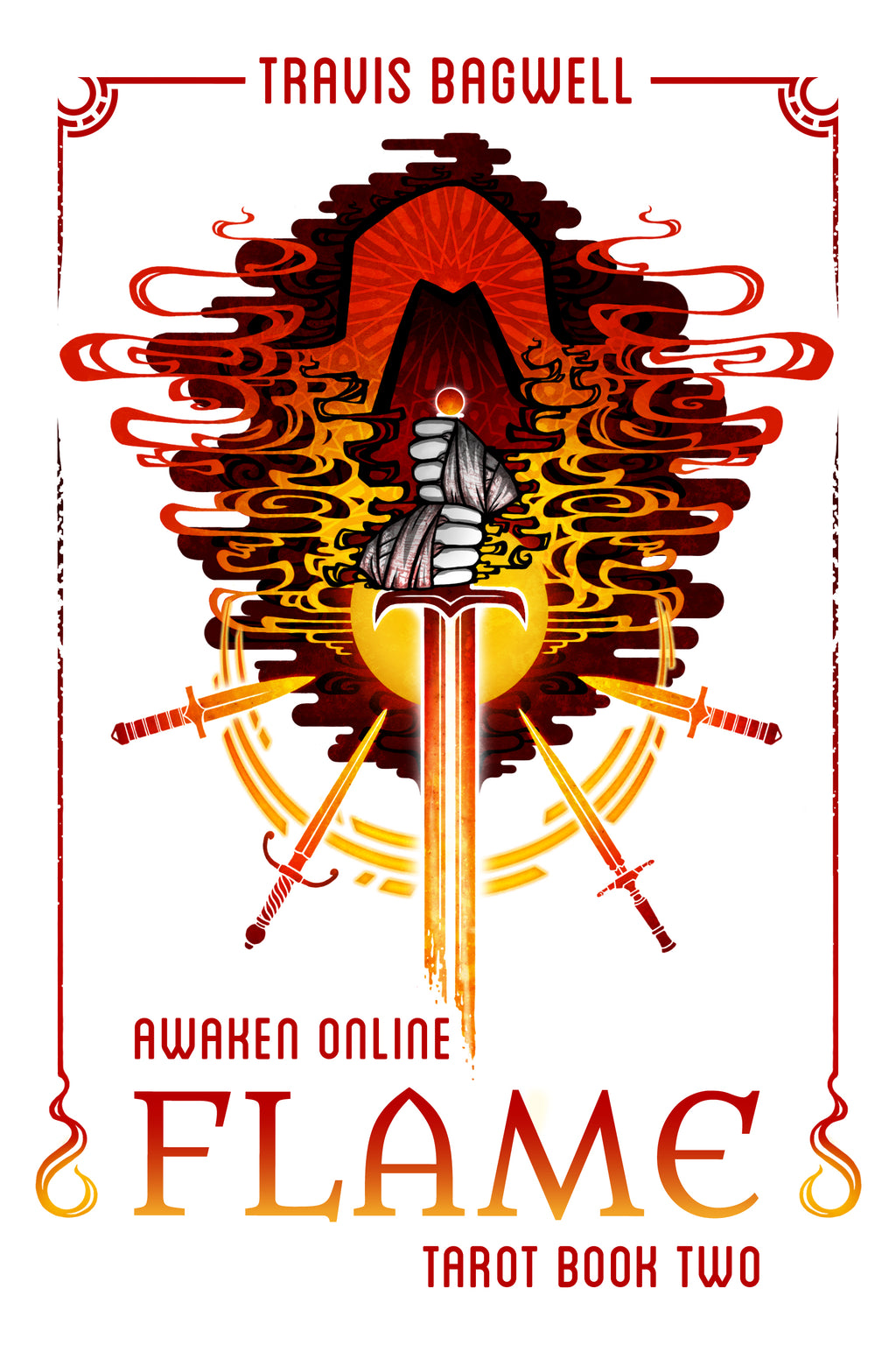 Awaken Online: Flame (Tarot #2) - Signed Print Edition