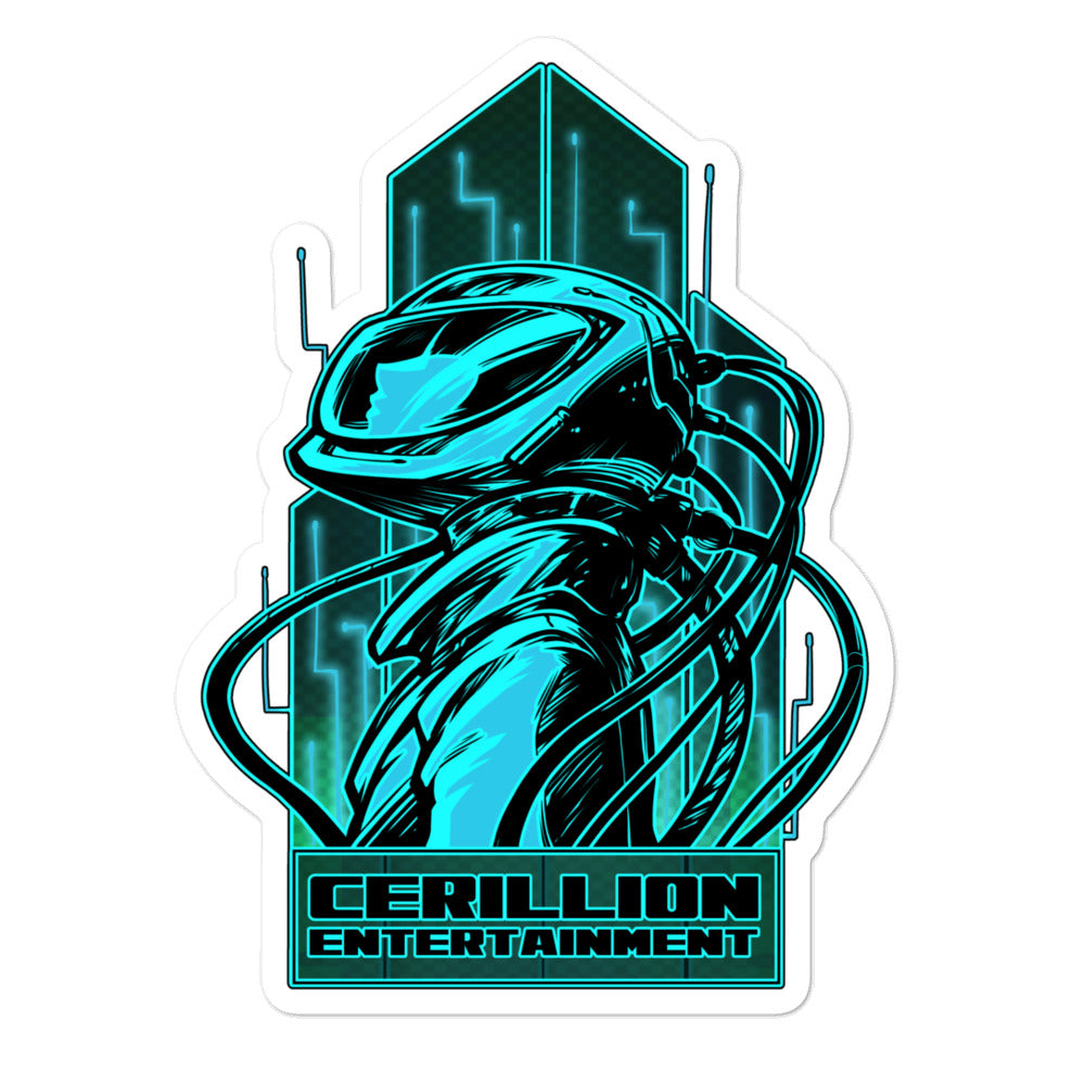 Cerillion Entertainment Bubble-free stickers