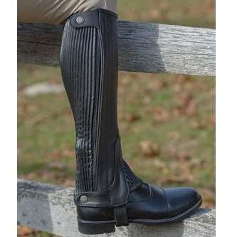 FoxHuntingShop.com-Adult Leather Half Chaps