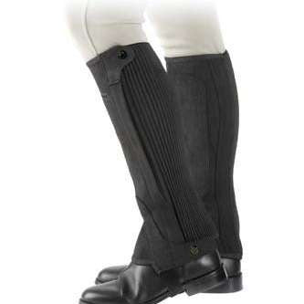FoxHuntingShop.com-Adult Suede Half Chaps