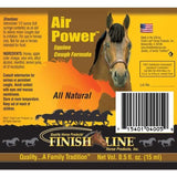 Finish Line Air Power Cough Formula