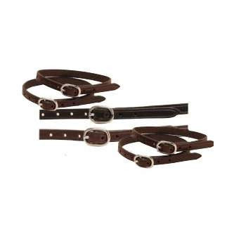 FoxHuntingShop.com-Children's English Spur Straps  - Havana