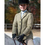 FoxHuntingShop.com-Children's Huntington Jacket - Green/Navy Check