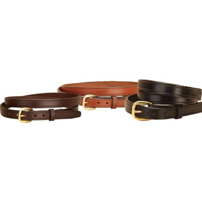 FoxHuntingShop.com-Creased English Bridle Leather Belt