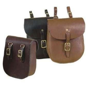 FoxHuntingShop.com-English Saddle Bag - Black