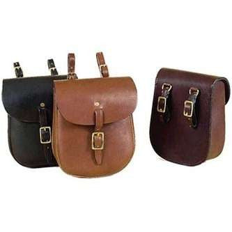 English Saddle Bag - Black