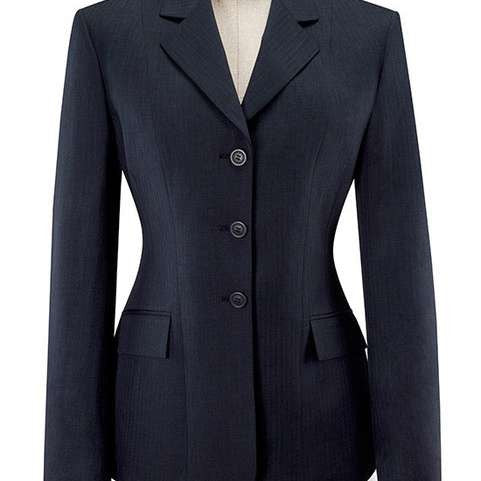 FoxHuntingShop.com-Essential Collection - Navy Pinstripe