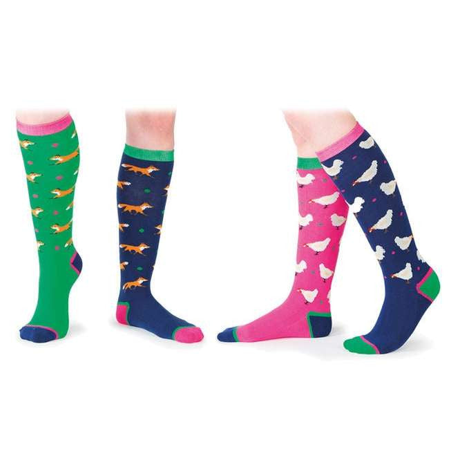 FoxHuntingShop.com-Everyday Boot Socks