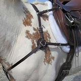 FoxHuntingShop.com-Five Way Leather Hunt Breastplate