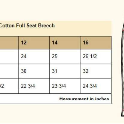 FoxHuntingShop.com-Kids' Full Seat Breeches