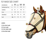 FoxHuntingShop.com-Guardsman Fly Mask with Ear Covers