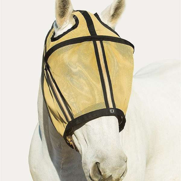 FoxHuntingShop.com-Guardsman Fly Mask with Ear Holes