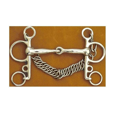 Myler D-Ring Ported Barrel & Hooks