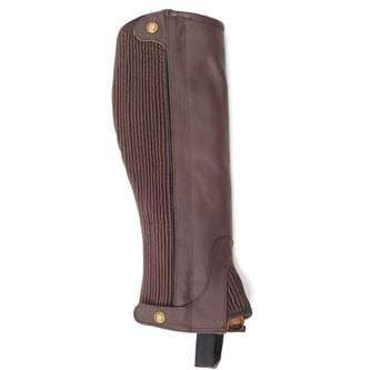 FoxHuntingShop.com-Kids' Leather Half Chaps