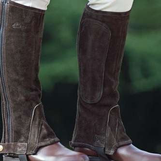 FoxHuntingShop.com-Kids' Suede Half Chaps