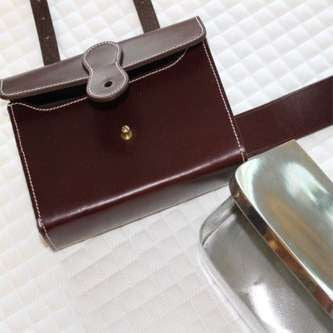 FoxHuntingShop.com-Men's Sandwich Case with Pewter Sandwich Box