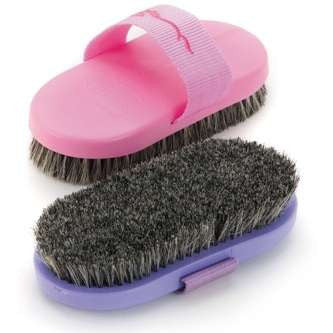 Pig Hair Body Brush
