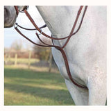 FoxHuntingShop.com-Raised Leather Running Martingale