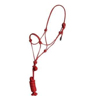 FoxHuntingShop.com-Rope Halter with Lead