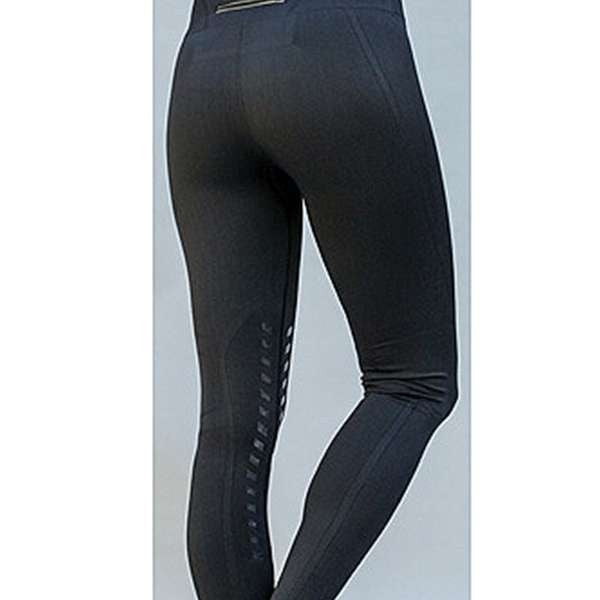 FoxHuntingShop.com-Seamless Designer Knee Patch Tights
