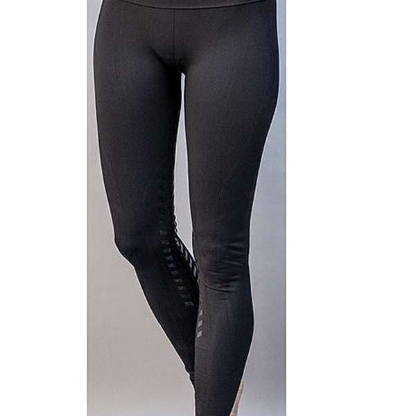 Seamless Designer Knee Patch Tights