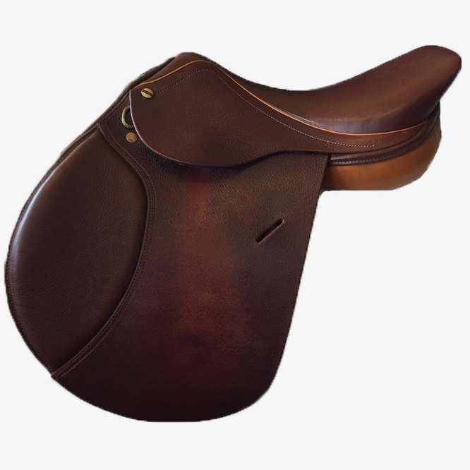 FoxHuntingShop.com-Used HDR Advantage Jump Saddle 16.5""