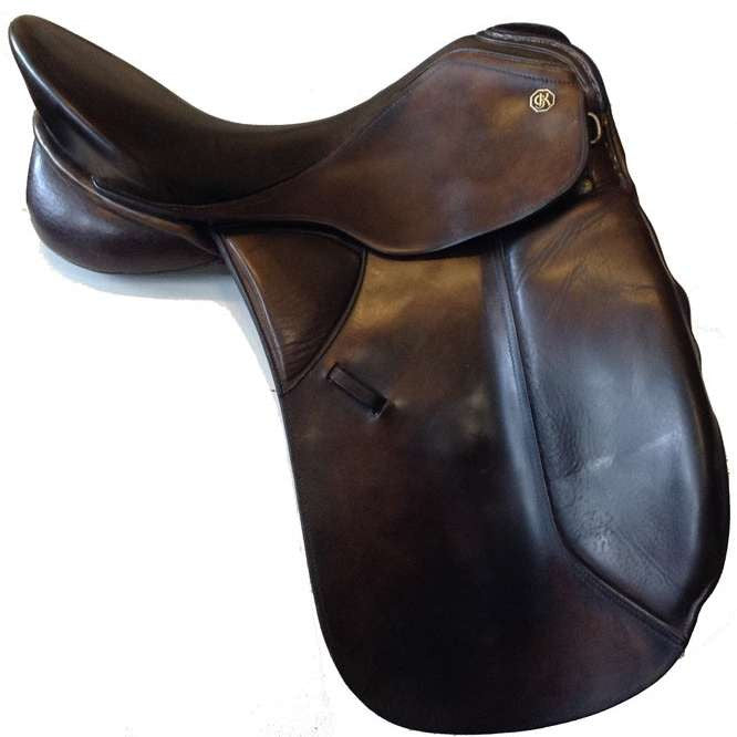 FoxHuntingShop.com-Used Kieffer Wien DL Dressage Saddle 17""